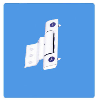 neon adjustable door hinge in white - bulk edit