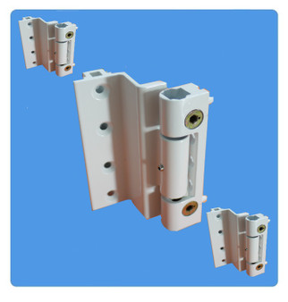 Challenger Rebated Butt Hinge for UPVC Doors Bulk White