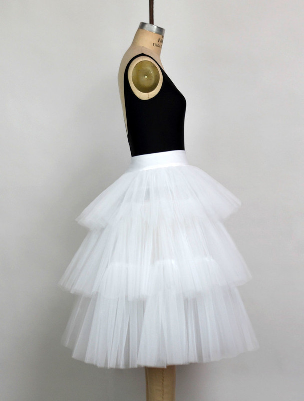 Conservatory C607 3-Tier Tutu Side