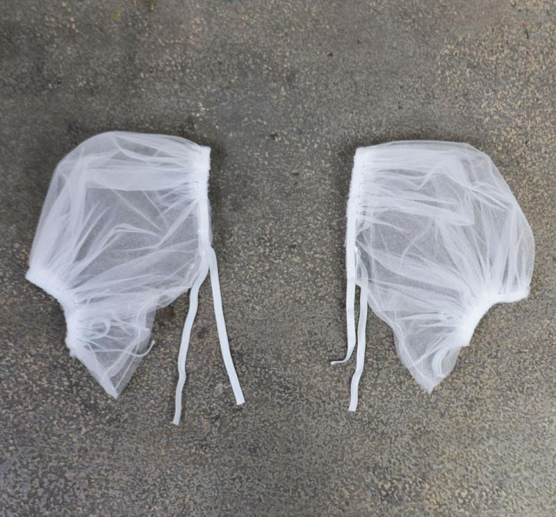 C310 Short Puff Sleeves Flat