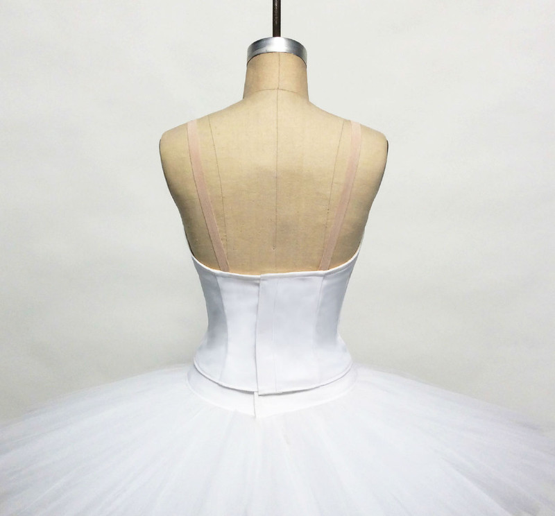 Conservatory C500N bodice back view