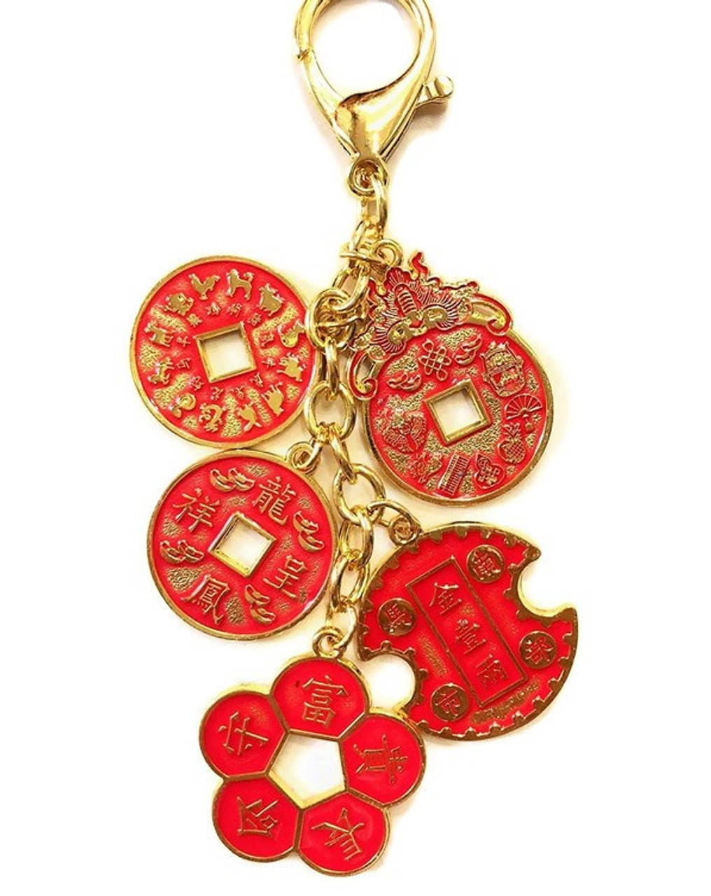 Feng Shui Success And Wealth Coins Amulet