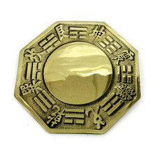 Feng shui bagua mirror convex