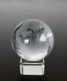 feng shui crystal globe