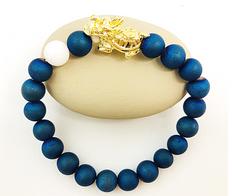 Dragon Turtle Lucky Bracelet for Career Growth -18K Gold