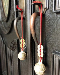 Tiger Bells for the Door Entrance