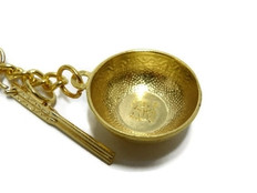 A Gold Rice Bowl represents Prosperity, Abundance, Wealthiness