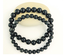 Obsidian Bracelet to absorb and transform negative energies quickly