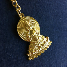 Medicine Buddha keychain-  Only 1 Left in Stock
