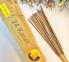 24 KARAT Incense for Wealth and Gambling