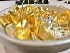 Bowl filled with Metal Ingots