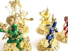 Dzambhala & 4 Dakinis to Attract different type of Wealth Luck