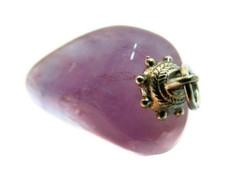 Amethyst dispelling nervousness, tension, and oversensitivity.