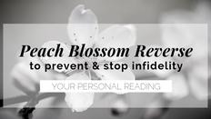 reverse peach blossom reading