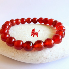 Carnelian Stone for WOOD OX sign