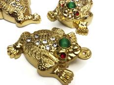 Bejeweled Money Frog