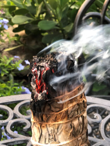 Smudging Large Spaces to Invite Positive Energy