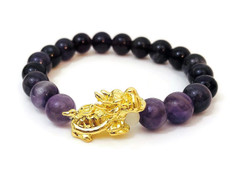 Energy Bracelet: Amethyst to relieve Stress