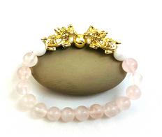 Energy Bracelet: Rose Quartz for Love, Friendship  & Harmony