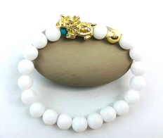 Energy Bracelet- Healing White Jade