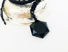 Black Obsidian blocks psychic attack and absorbs negative energies