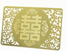 Feng Shui Love & Happiness Talisman Golden Card