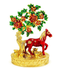 BEJEWELLED PEACH BLOSSOM - HORSE
