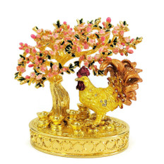 BEJEWELLED PEACH BLOSSOM - ROOSTER