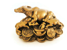Wealth Ox symbol to attract abundant good fortune  in 2021