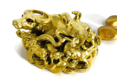 Wealth Bull w/Zodiac Animals for Network and business Luck