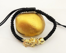 18K Gold Dragon Turtle for Celestial Support