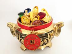 Bronze Wealth Pot