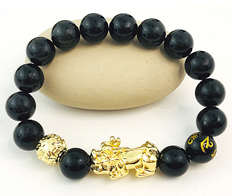 Pixiu  Obsidian Bracelet