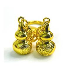 Pair of Garuda Wu Lou w/Anti Illness Amulet