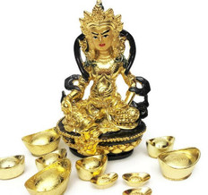 Auspicious Dzambhala for wealth luck