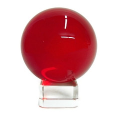 Feng Shui Red Crystal Ball