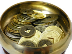 Activate your Business and Career Corner using Old Chinese Coins