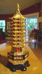 The Pagoda is effective in Warding off any Pernicious Forces