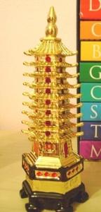 Feng Shui Gold Pagoda
