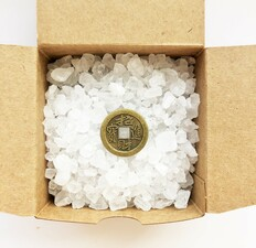 Salt Cleansing Cure BOX for hidden spaces