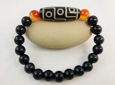 DZI Nine Eyed- Cleanse negative energy or karma