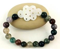 Unblocked Roads & Success -Jade Knot & Blood Stone bracelet