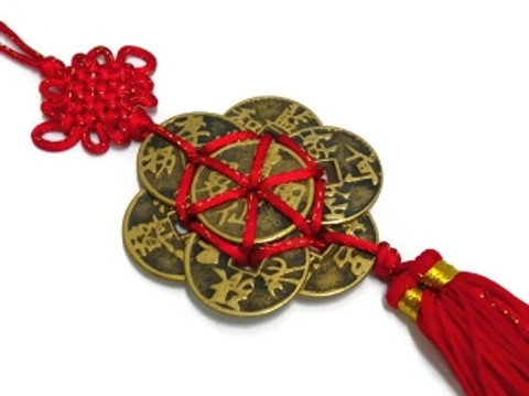 feng shui coins charm