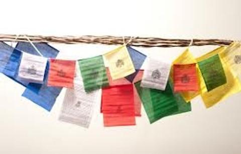 Feng Shui Wind Horse Flags