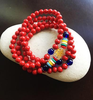 Protective Mantra Mala Bracelet