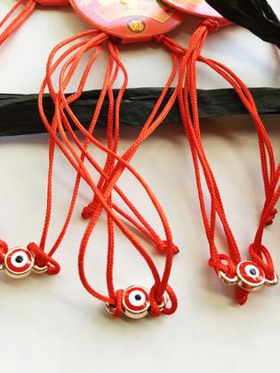 Red bracelet for protection against envy - 3 Units