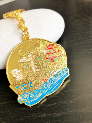 Wealth Ship Amulet for Commercial Activities