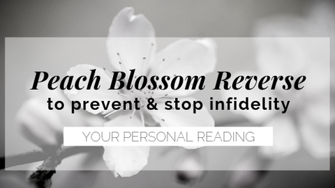 reverse peach blossom reading
