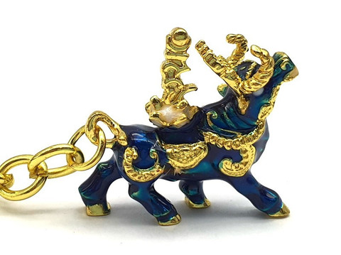 Wealth Bull key chain for Activating Wealth & Big Auspicious