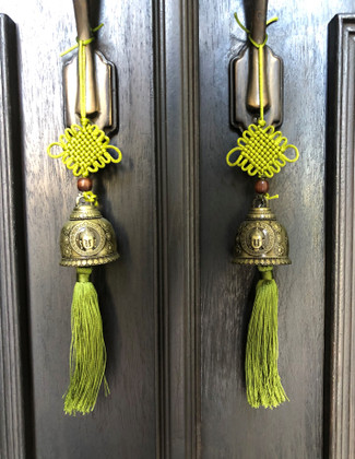 Green for Balance, Harmony & Renewal-Buddha Bells